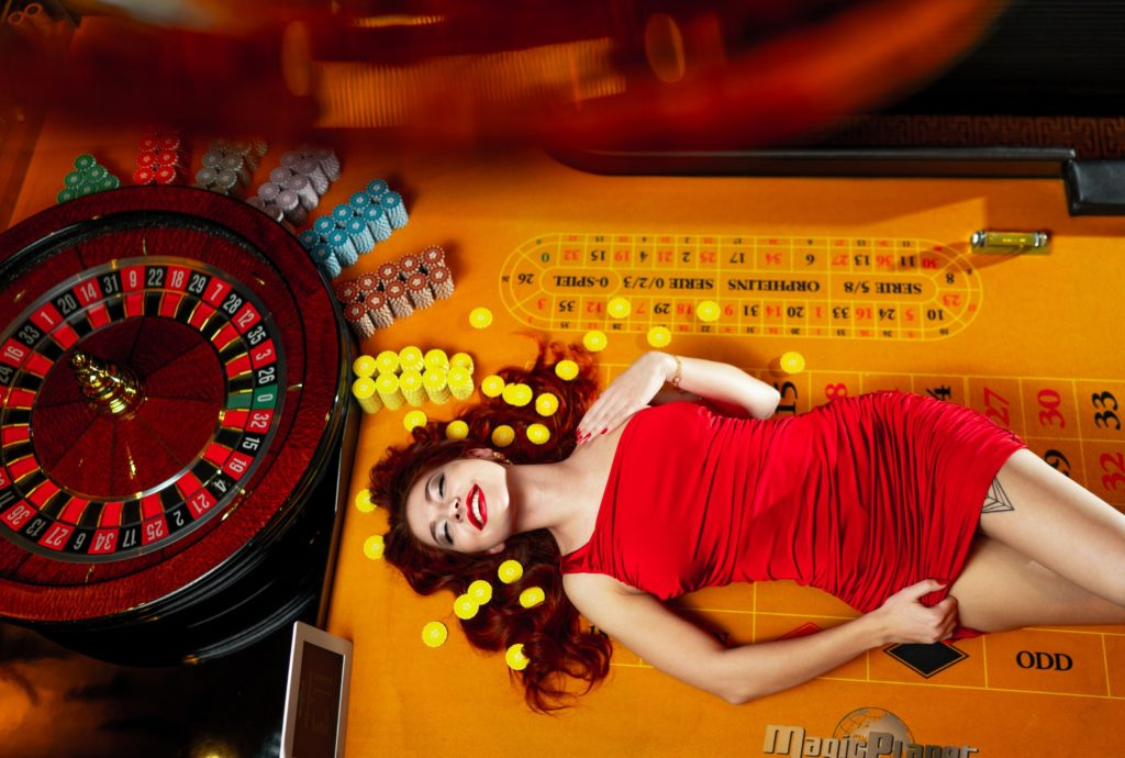 casino advertising photography by creative agency